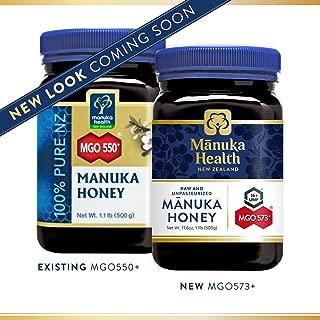 Manuka Health - MGO 550+ Manuka Honey, 100% Pure New Zealand Honey, 1.1 lbs