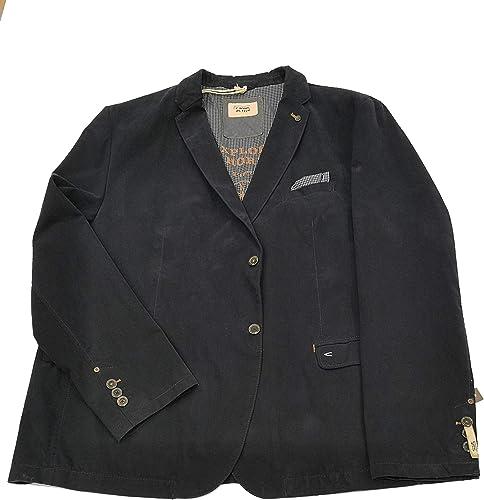 Veste Coton Sportswear Grande Taille, Marine, 70