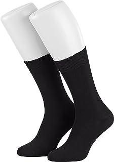 6 Par de Hombres Calcetines de Salud de Algodon todo sin Goma