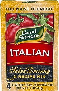 Good Seasons Italian Dry Salad Dressing and Recipe Mix, 4 ct - Packets