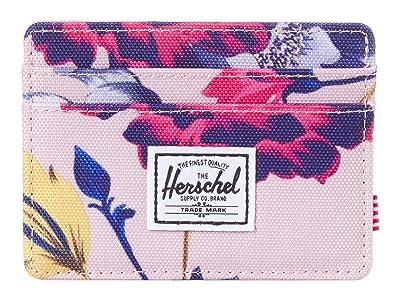 Herschel Supply Co. Charlie RFID (Winter Flora) Wallet Handbags