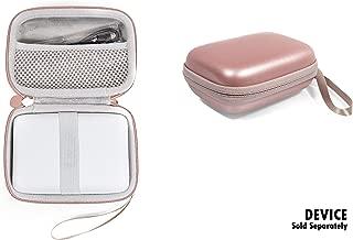 getgear Customized Case for Fujifilm Instax Mini Link Smartphone Printer, mesh Pocket for Extra Instant Film, Elastic Secure Strap, Elite Easy to go Detachable Strap
