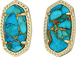 Gold/Bronze Veined Turquoise Magnesite
