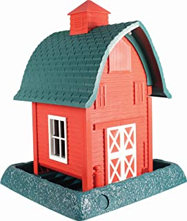 North States 9081 8 Lb Capacity Barn Village Collection Bird Feeder