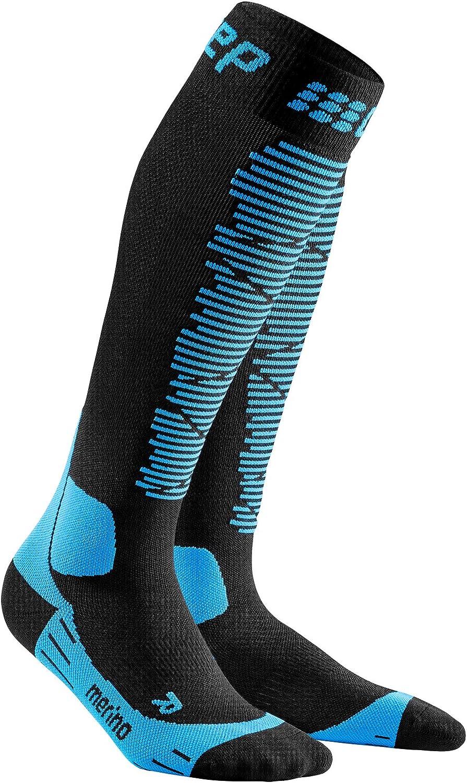 CEP Men's Winter Ski Merino Compression Socks for Performance