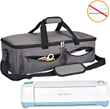Luxja Carrying Bag Compatible with Cricut Explore Air and Maker, Tote Bag Compatible with Cricut Explore Air and Supplies (Bag Only, Patent Pending), Gray