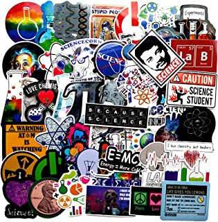 51pcs Funny Science Chemistry Lab Apparatus Stickers vinyl Phone Laptop Water Bottle Motorcycle Bicycle Luggage Guitar Skateboard Sticker Decal