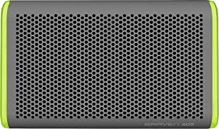 Braven 405 Wireless Portable Bluetooth Speaker [Waterproof][Outdoor][Rugged][24 Hour Playtime][2100 mAh] - Silver/Green