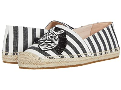 Kate Spade New York Garden Zebra (Black/White) Women