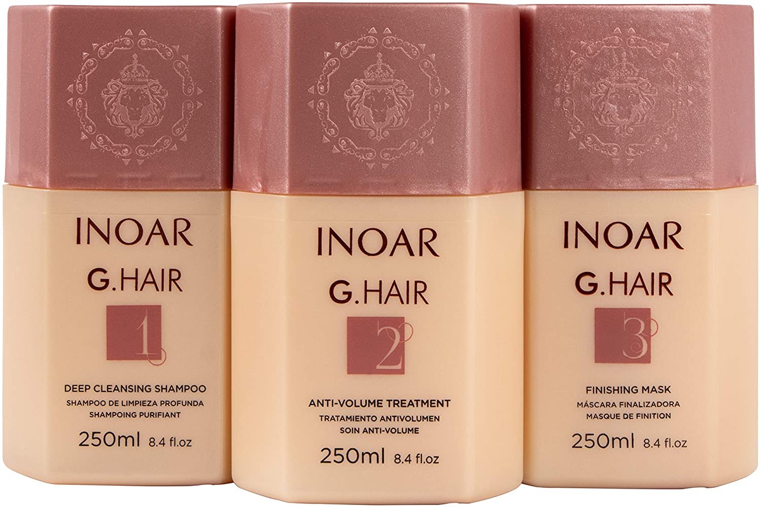 INOAR PROFESSIONAL - G-Hair Keratin C discount Smoothing System Deep with Max 62% OFF