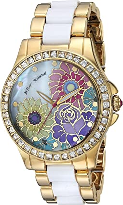 Betsey Johnson - BJ00246-15 - Floral Print Face