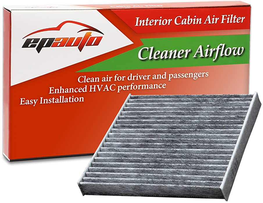 EPAuto CP285 (CF10285) Toyota/Lexus/Scion/Subaru Premium Cabin Air Filter includes Activated Carbon