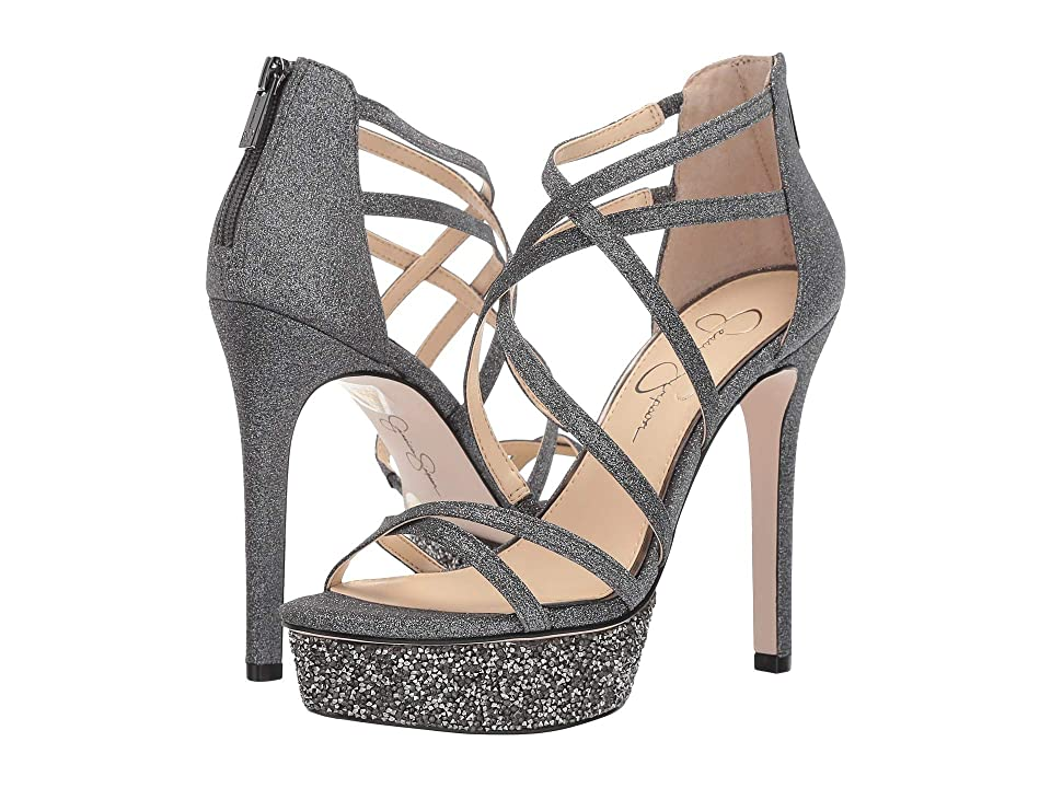 Jessica Simpson Araya 2 (Pewter Micro Flash) Women