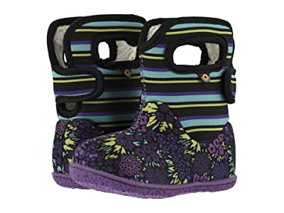 Bogs Kids Baby Bogs NW Garden (Toddler) (Black Multi) Girls Shoes