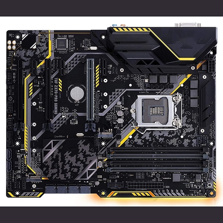 RKRLJX Placa Madre Motherboard de Escritorio Usado ASUS TUF Z370-Pro Gaming DDR4 LGA 1151 Z370 Motterboard USB2.0 USB3.1VGA DVI HDMI Placa Base