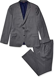 Men's Slim Fit Performance Suit with Stretch