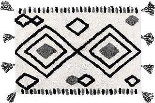 Moroccan Diamond Soft & Plush Shag Rug - Cloud Comfort, Thick Luxurious Bathroom Laundry Kitchen Rug, Cozy High Pile Washa...