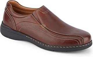 Mens Mosley Leather Dress Casual Slip-On Shoe