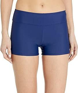 CHAPS Women's Boy Short Bikini Swimsuit Bottom