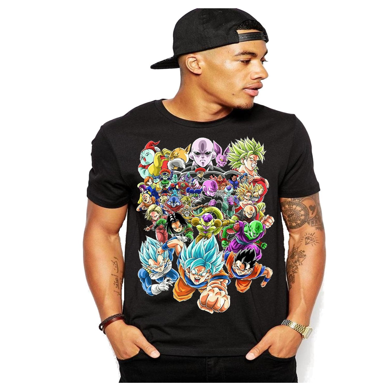 Tournament of Power Fighters Dragon Ball Z Heroes Super Tee T-Shirt S-3XL