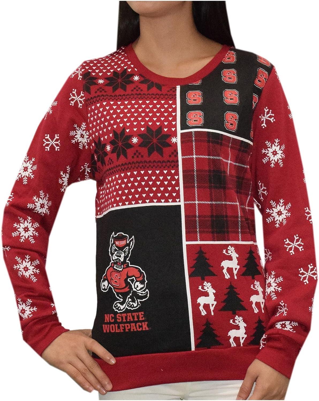 North Carolina State Wolfpack Womens NCAA Athletic Thermal Sweatshirt