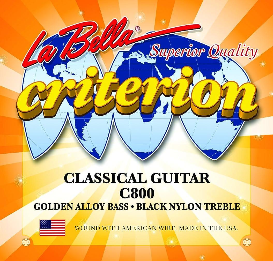 あなたのもの圧倒するしつけLaBella C800 Labella Crit Blk Nylon Classic アコースティックギター アコギ ギター (並行輸入)
