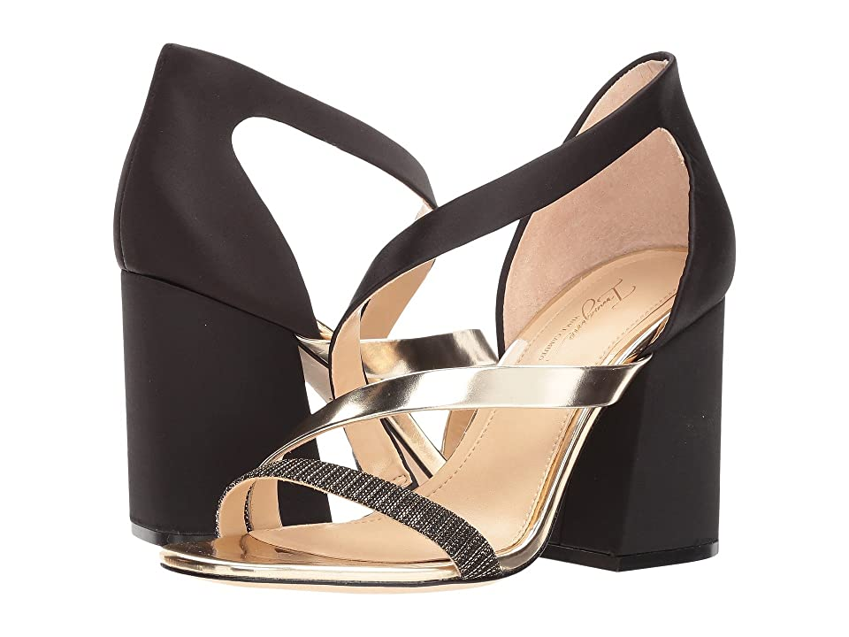 Imagine Vince Camuto Abi (Black/Soft Gold Multi) High Heels