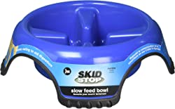 HDP JW Skid Stop Food and Water Bowl Slow Feed