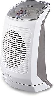 Bimar Calefactor de Ventilador Eléctrico Portàtil HF201, Baño, Estufa, Bajo Consumo, Calentador, Temporizador de 24 h, Aire Caliente, Silencioso, Calefacción, Triple Seguridad