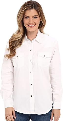 Solid Poplin L/S Shirt