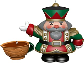 Hallmark Keepsake Christmas Ornaments 2018 Year Dated, Tea Time! Nutcracker, Porcelain, Set of 2