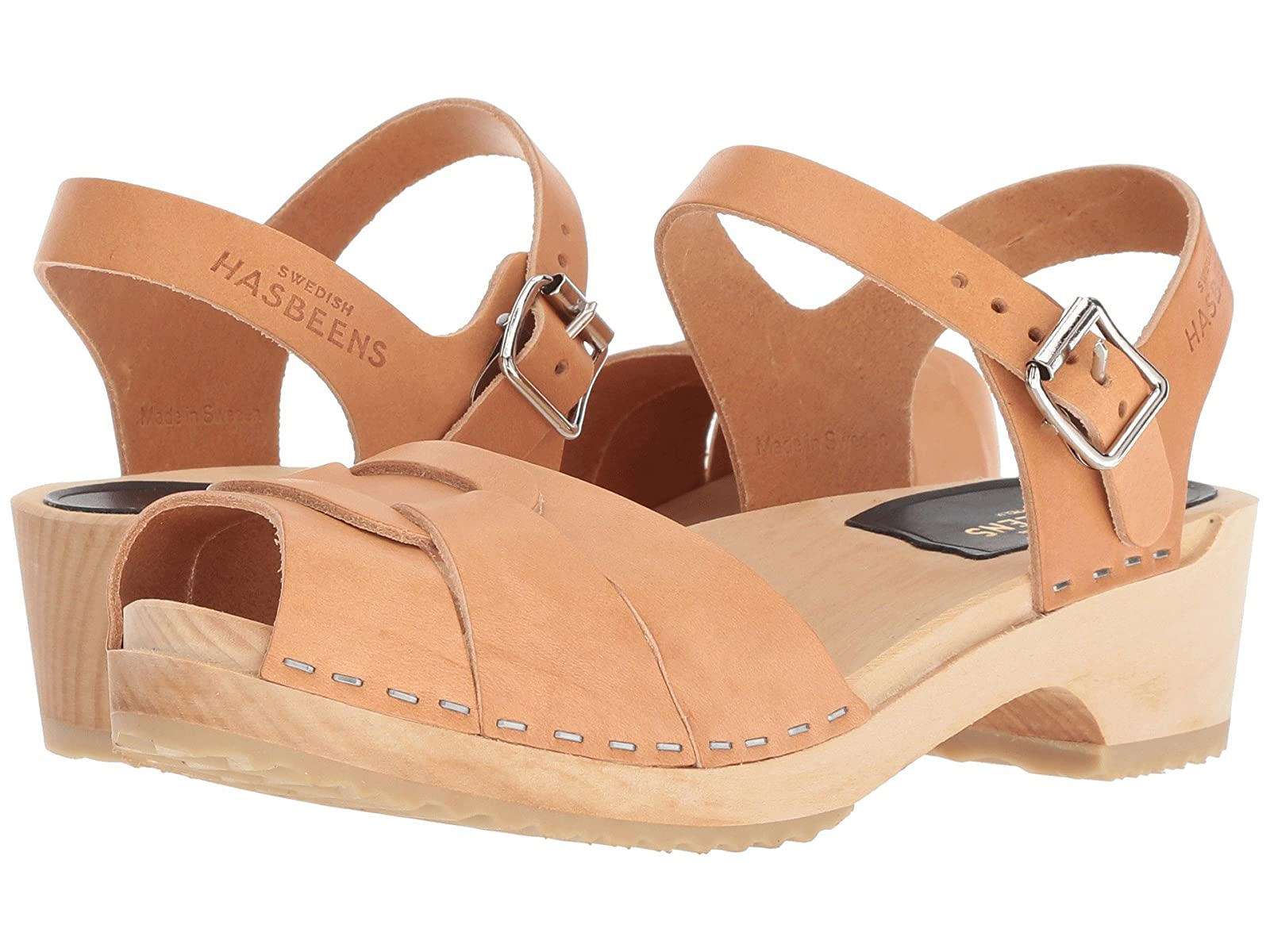Swedish Hasbeens Peep Toe LowAtmospheric grades have affordable shoes