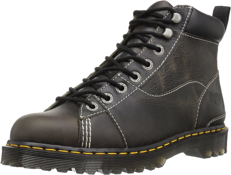 Dr. Martens Unisex-Adult Alderton Black Greenland Construction Boot