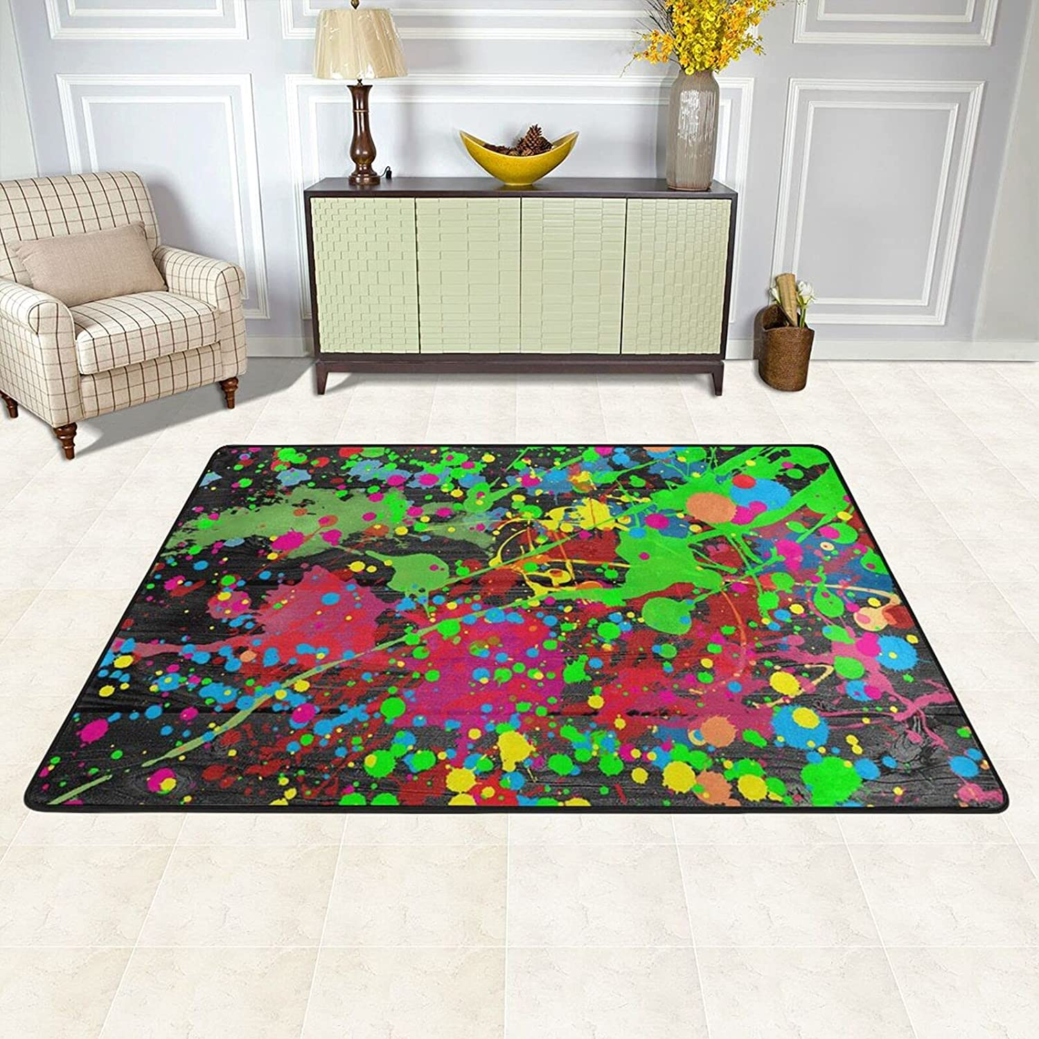 Area Rugs Pad Luxury goods for Bedroom Living Room Brand Cheap Sale Venue Distinctive Pai Out Stand