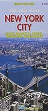 Detailed street map of New York City : Bronx, Brooklyn, Queens, Manhattan, Staten Island