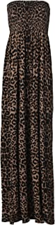 Womens Plus Size Leopard Stripe Tie Dye Floral Print Sheering Maxi Dress