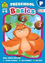 School Zone – Preschool Basics Workbook – 32 Pages, Ages 3 to 5, Preschool to Kindergarten, School Readiness, Opposites, Beginning Sounds, Counting, and More (School Zone Basics Workbook Series) PDF