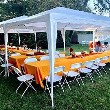 Party Tent 10'x30' Heavy Duty Gazebo Canopy Outdoor Tent Waterproof UV Protection Pavilion with 8 Removable Sidewalls