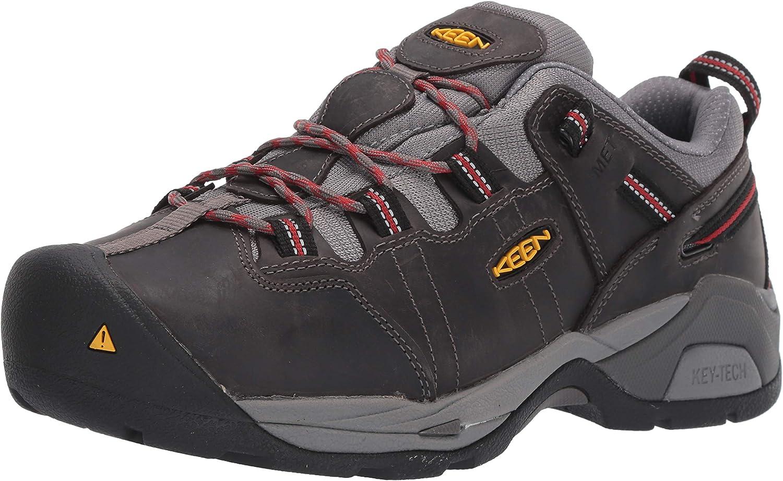 KEEN Utility Men's Detroit Xt (Steel Toe) Internal Met Guard Work Boot for Construction Industrial