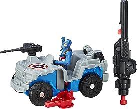 Marvel B6770EL20 Captain America Civil War Captain America with 4x4 Blast-Action Figure