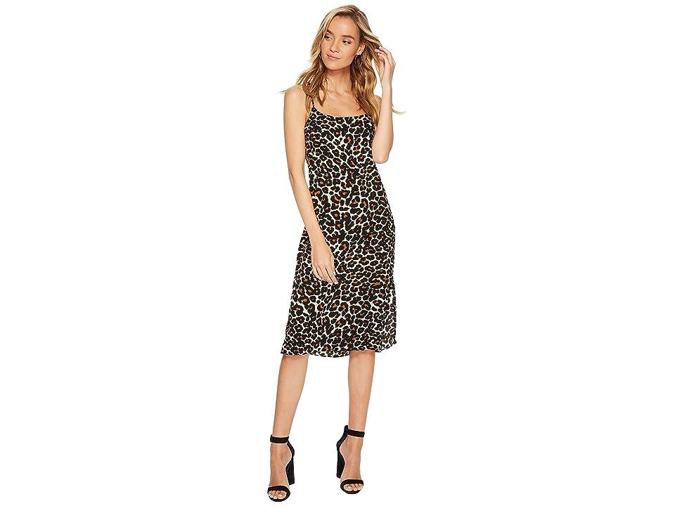 Show Me Your Mumu Shiloh Slip Dress (Cheetah Club Pebble) Women