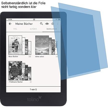4protec I 2x Antireflex Matt Schutzfolie Für Tolino Computer Zubehör