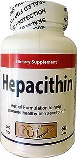 HEPACITHIN - Limpieza de los riñones - Desintoxicación y soporte para las vías urinarias, vejiga