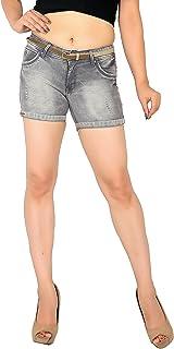 Focus Women's Slim Fit Stretchable Denim Hotshort