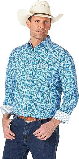 George Strait Long Sleeve Button Woven Shirt