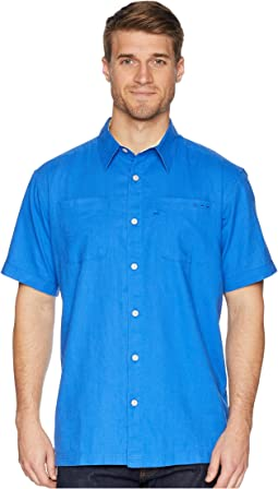 Harborside Linen Camp Shirt