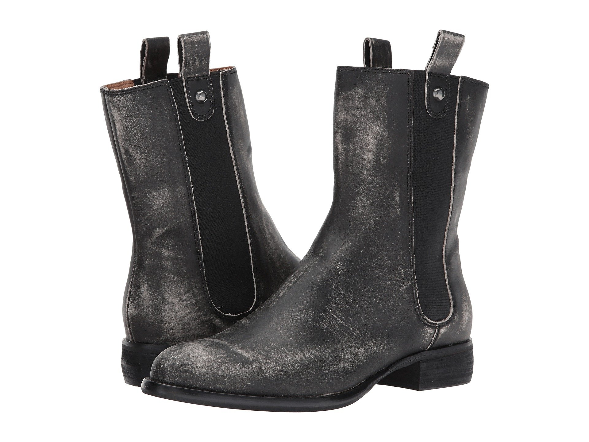 CORSO COMO Armando in Black Worn Leather