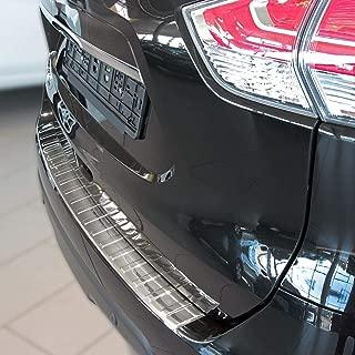 08.2017 passgenau mit Abkantung ABS Farbe schwarz Aroba AR695 Ladekantenschutz Sto/ßstangenschutz kompatibel f/ür Nissan X-Trail BJ T32 nach Facelift
