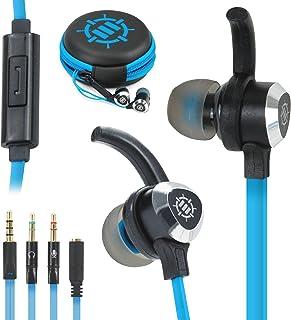 ENHANCE Auriculares Gaming In Ear con Micrófono para Pc,