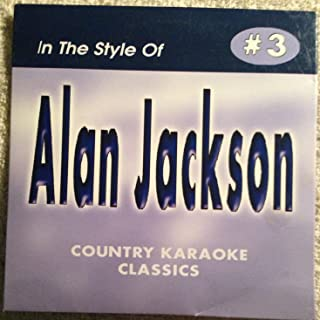 Alan Jackson COUNTRY KARAOKE CLASSICS CDG VOL. 03